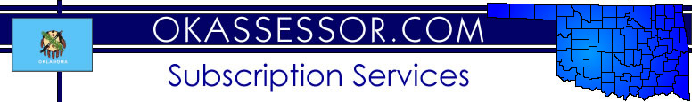 OkAssessor.com Subscription Services